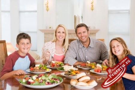 Правильный семейный обед