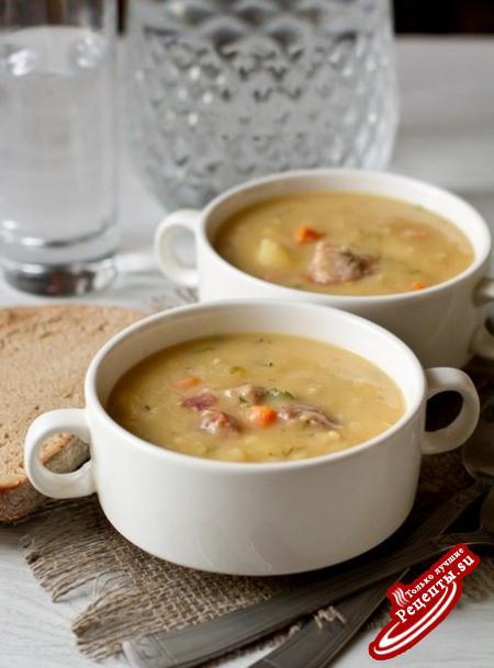 как варить гороховый суп с курицей рецепт #11