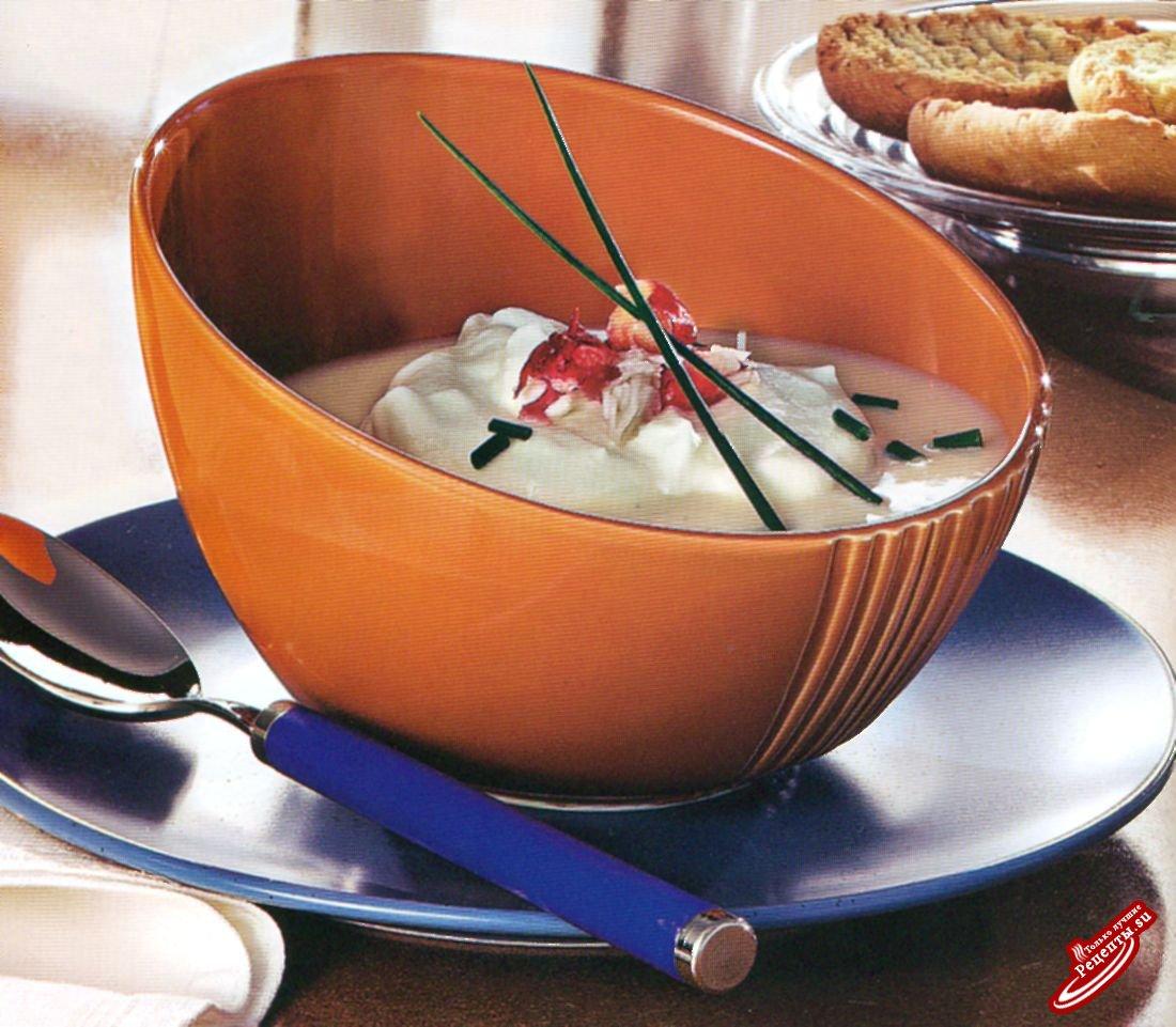 Изысканный крабовый суп