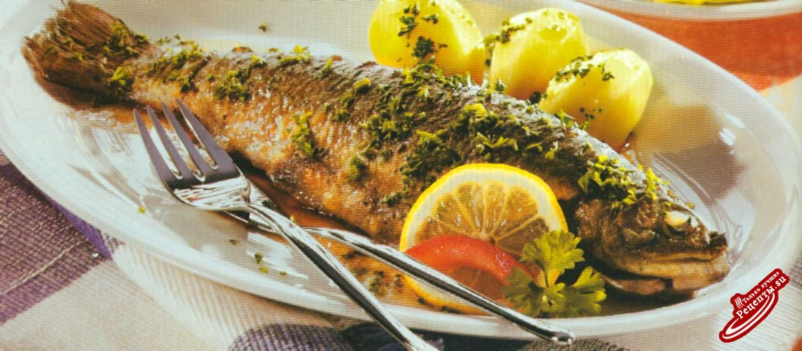 Горячие рыбные блюда рецепты с фото