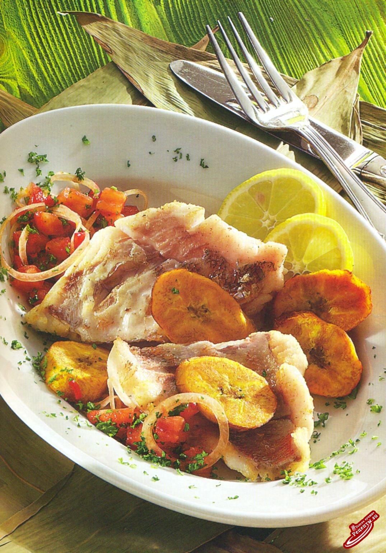 Рыба по-карибски