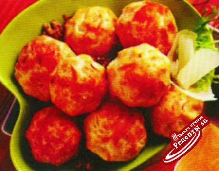 Мини-корзиночки с сырной начинкой