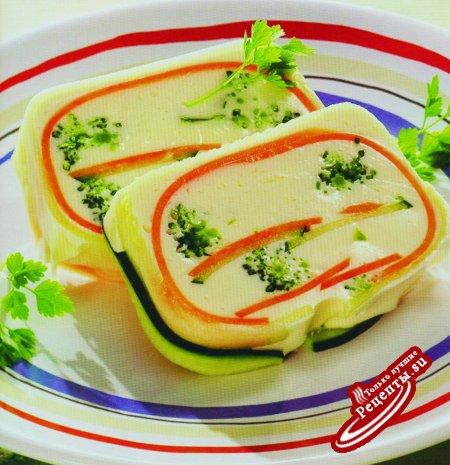 Праздничный овощной паштет