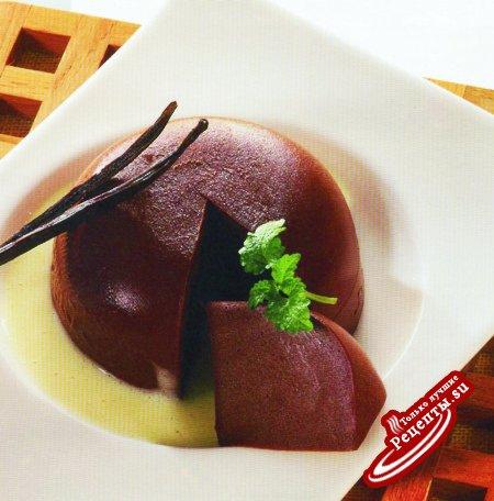 Шоколадная маркиза с английским кремом