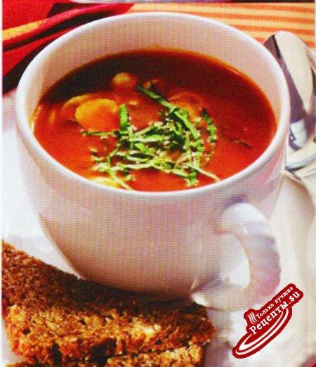Легкий новогодний суп
