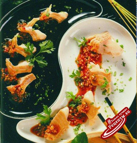 Рыбный салат по-таиландски