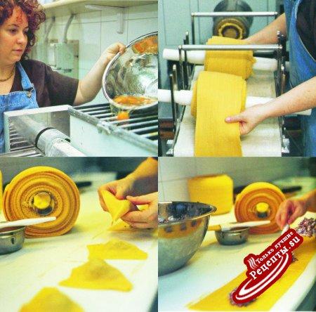 Италия. Приготовление макаронных изделий