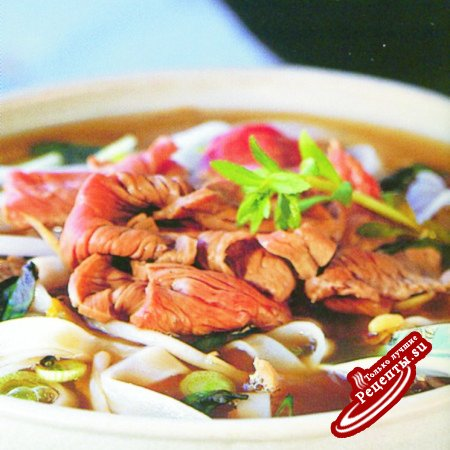 Вьетнам. Суп пхо с лапшой