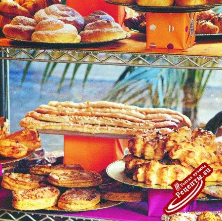 Испания. Хлебцы кока