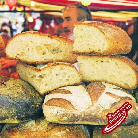 Франция. Хлеб на закваске
