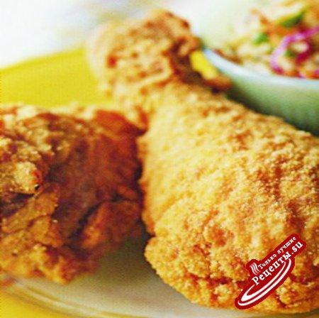 США. Жареная курица южных штатов