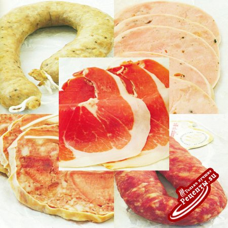 Испания. Испанские колбасные изделия