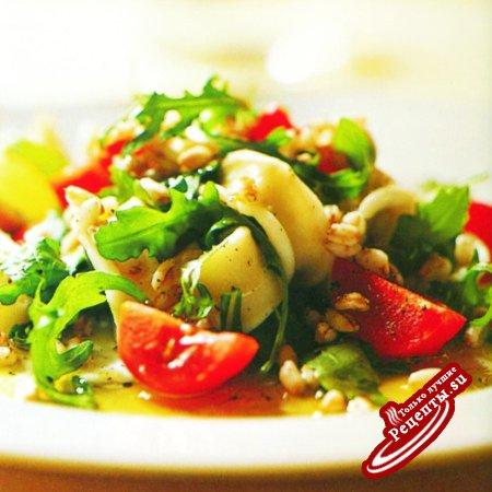 Италия. Салат из фарро