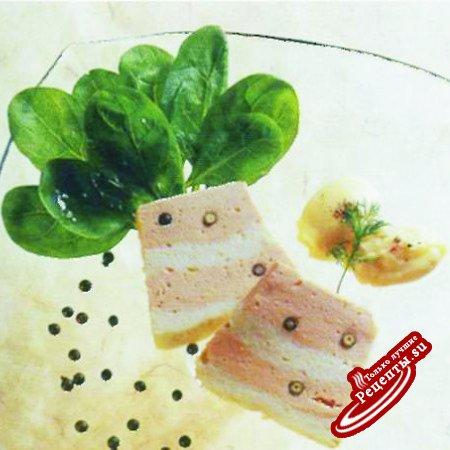Паштет из лосося со сладким перцем