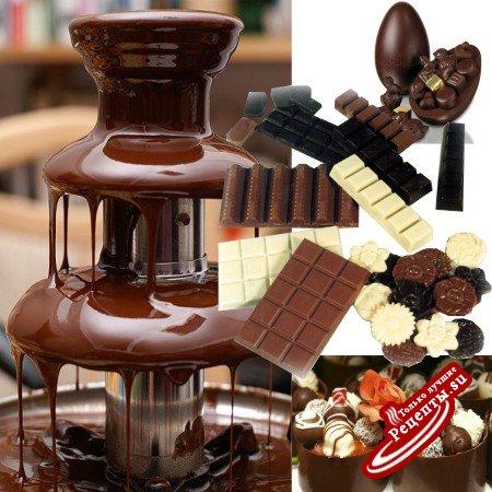 Варианты готового шоколада