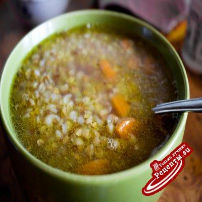 Очень полезный гречневый суп