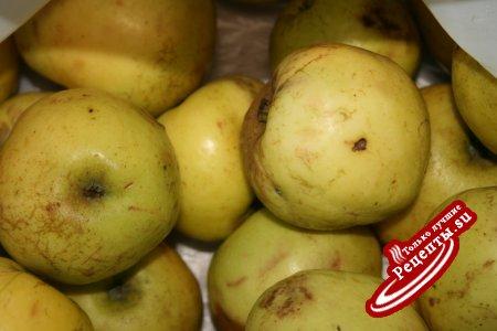 яблочное варенье с курагой