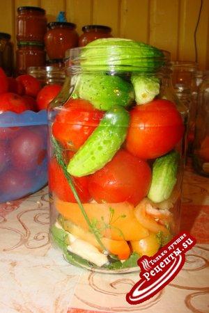 Овощное ассорти на зиму (вариант)