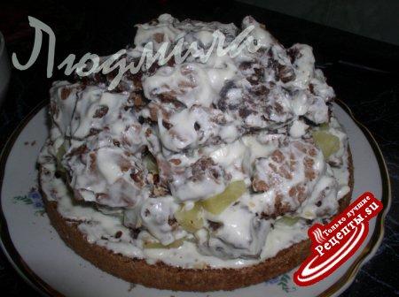 панчо торт рецепт без выпечки с #14