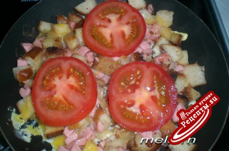 Ленивая пицца (если есть всего 10 минут для приготовления ужина)