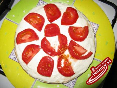 Блинный закусочный торт