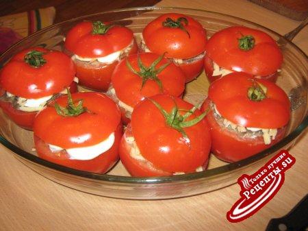 помидорчики да фаршированные!