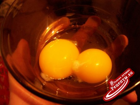 Яйца в гнездах (с сыром)