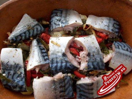 Запеканка с рыбкой