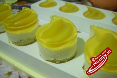 Пирожные йогуртовые