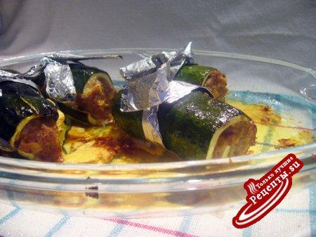 Фаршированные цукини по-мароккански