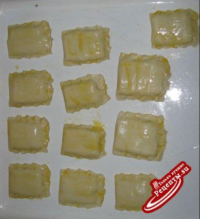 Снэки с ветчиной и сыром