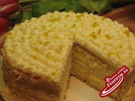 Рецепт торт шампанське фото