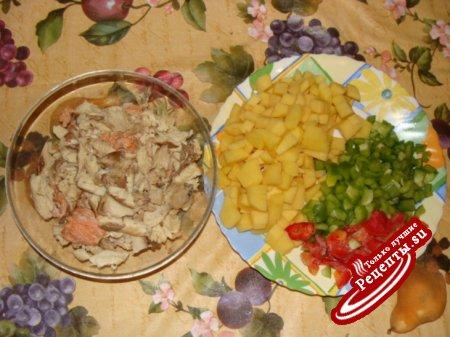 суп рыбный со сливками
