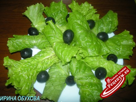 Салат в салате
