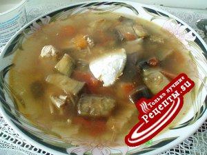 Суп из баклажанов от Галины для Ларисы