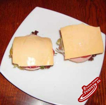 Сандвич горячий