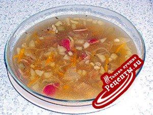 Суп без названия или рассольник из топора