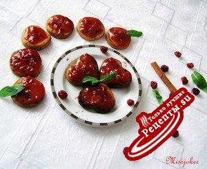 Карамельно-черешневое печенье или по стопам любимых кулинаров