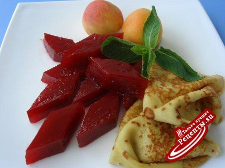 Мармелад из клубники (гарнир для десертов).