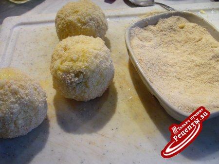 Аранчини - оранжевые рисовые шарики