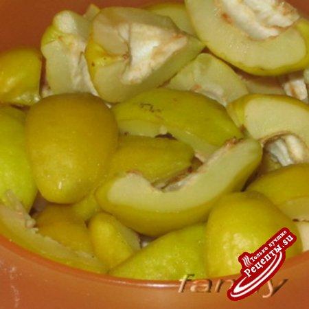 Маринованная японская айва по рецепту маринованных груш от Иоанны Хмелевской