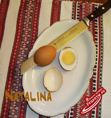 запеченые яйца в скарлупе