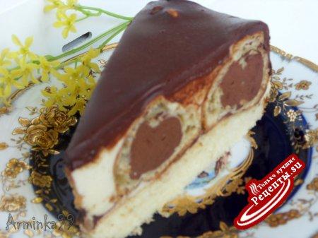 Торт с эклерами с фото
