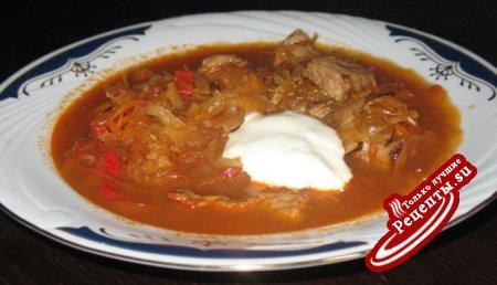 Суп-Гуляш по сегедски