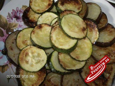 Картофельно-овощиной торт с мясом