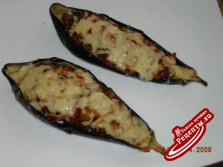 Рецепт баклажаны запеченные с беконом