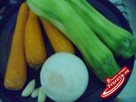 Оладьи с морковью и кабачками БЕЗ муки