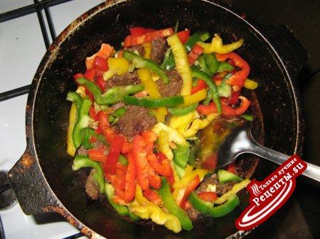 мясо по тайский рецепт с фото