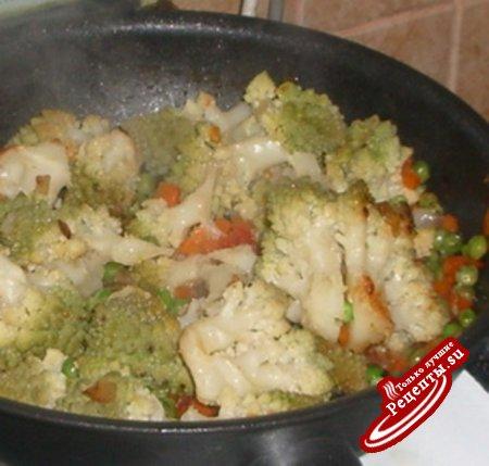 Вкусное блюдо для любителей цветной капусты.