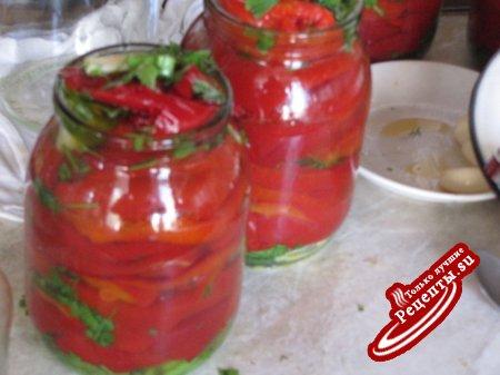 Маринованные перци по армянски(вариант)